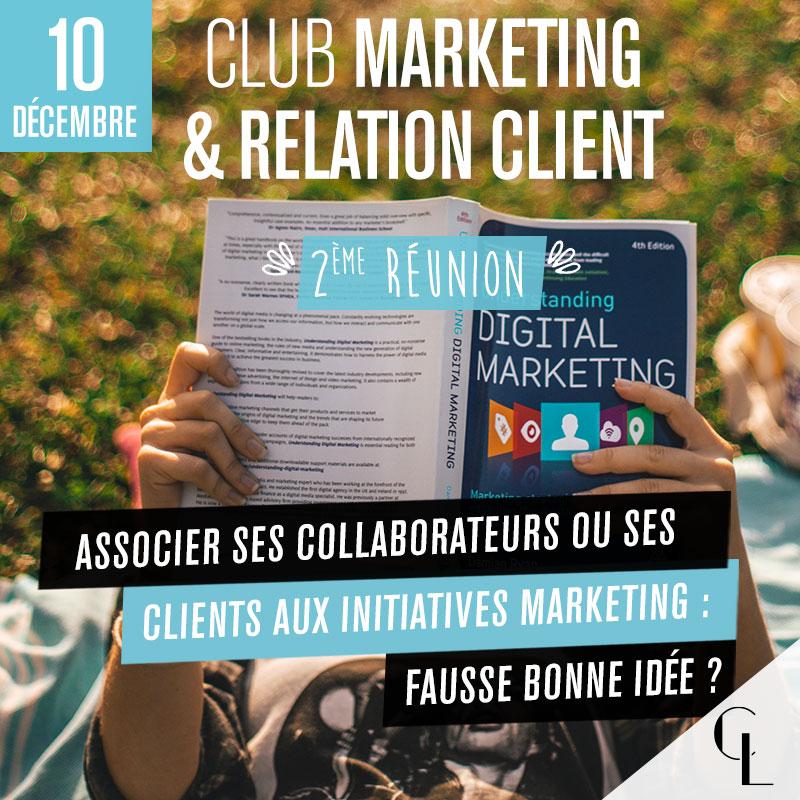 Club Marketing - 2ème réunion