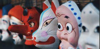 Des masques japonais