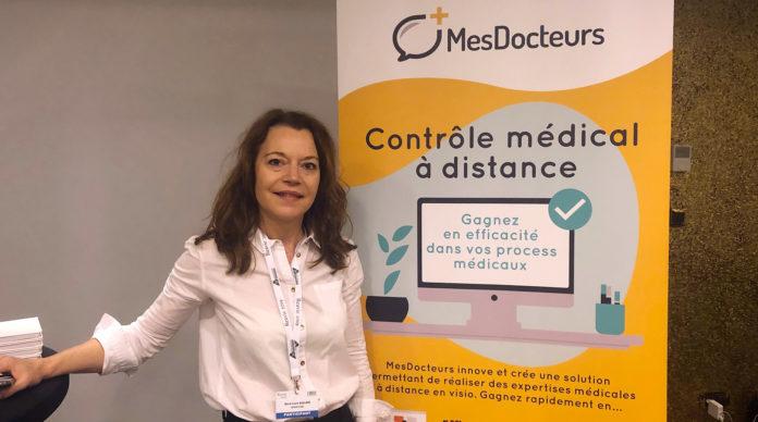Marie-Laure Saillard, CEO de MesDocteurs