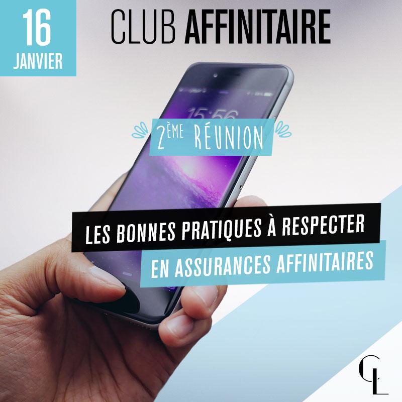 Club Affinitaire - 2ème réunion