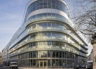 Siège de l'ACPR, place de Budapest à Paris