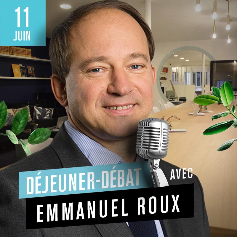 Déjeuner Débat avec Emmanuel Roux, directeur général du groupe Aésio