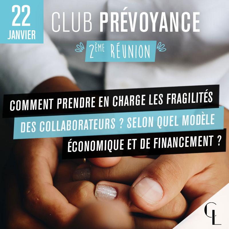 Club Prévoyance - 2ème réunion