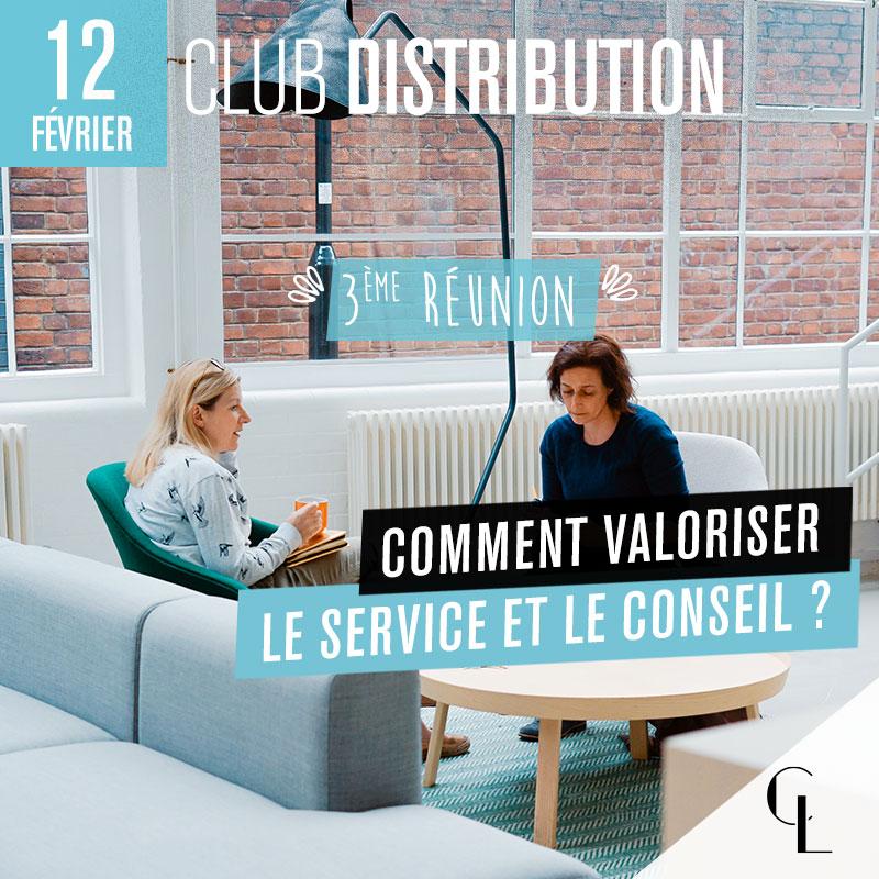 Club Distribution - 3ème réunion