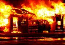 Un incendie ravage un véhicule et une habitation