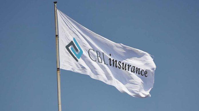 le drapeau de CBL Insurance