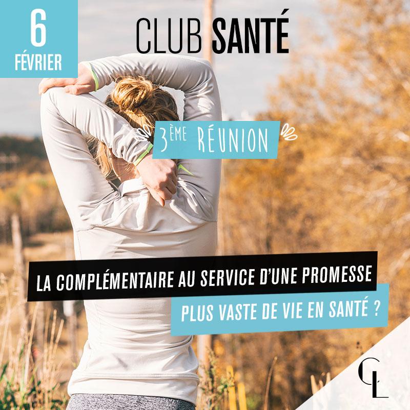 Club Santé - 3 ème réunion