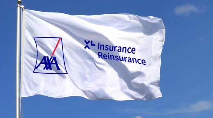 Axa XL drapeau