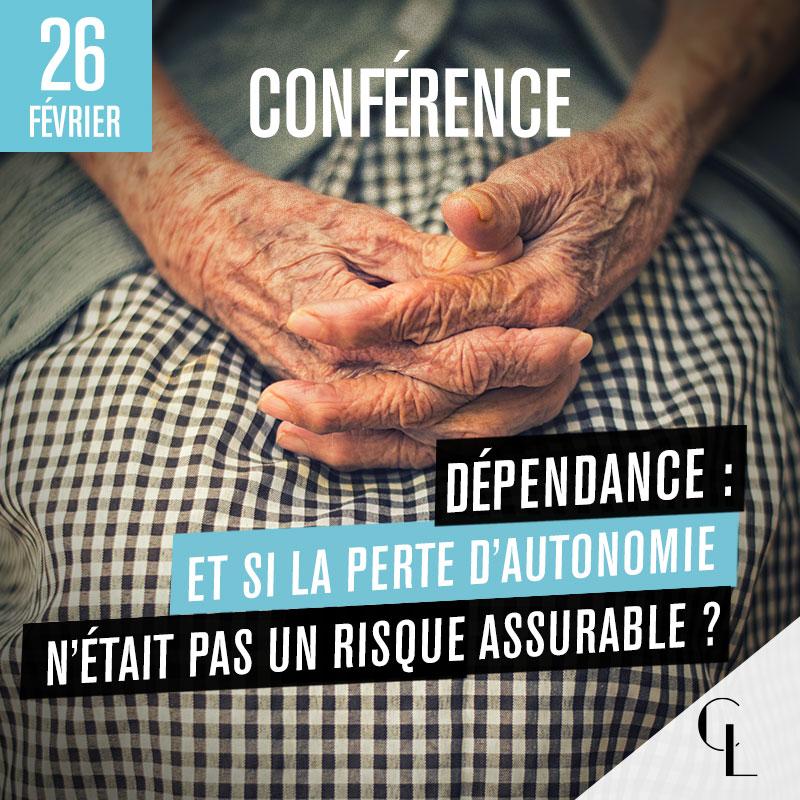 Conférence Dépendance : Et si la perte d'autonomie n'était pas un risque assurable ?