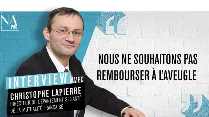 Christophe Lapierre, directeur SI de la Mutualité Française