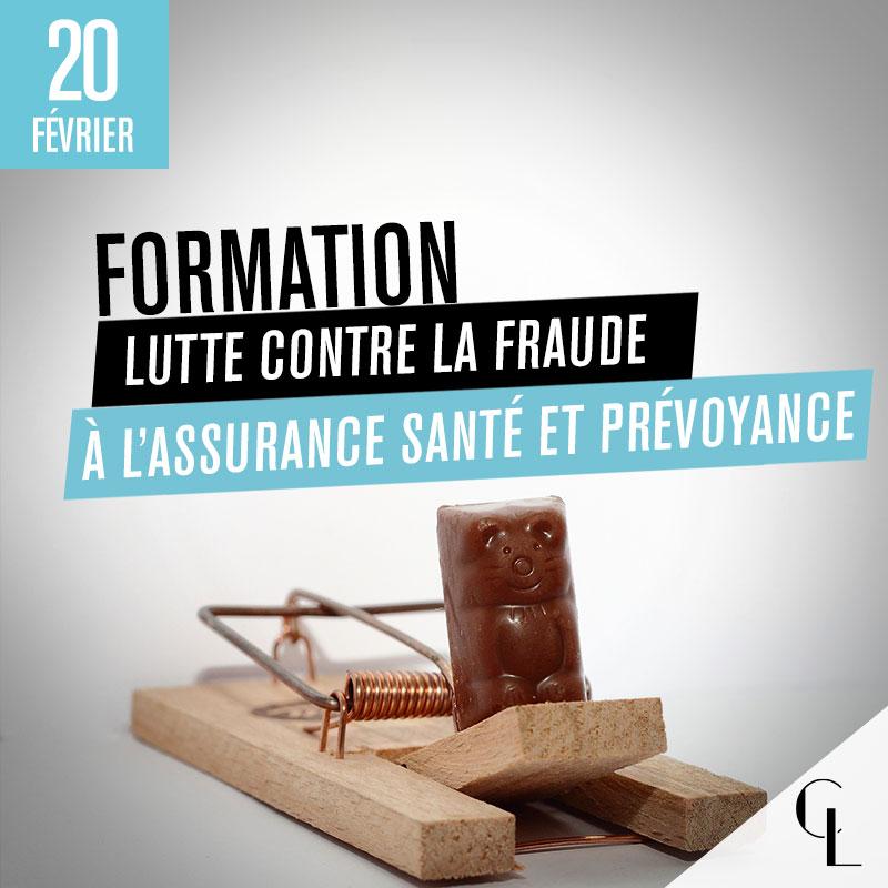 Formation : Lutte contre la Fraude à l'Assurance Santé et Prévoyance