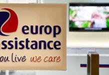 Dans les locaux d'Europ Assistance