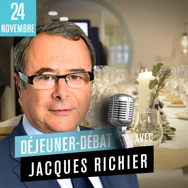 Déjeuner Débat avec Jacques Richier