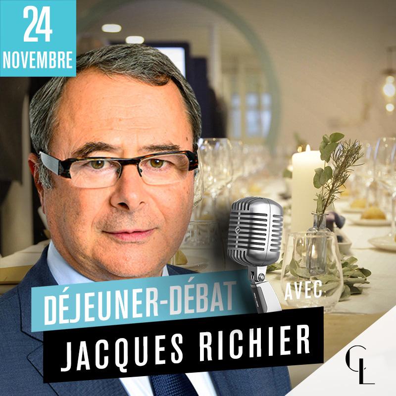 Déjeuner Débat avec Jacques Richier, Président-directeur général chez Allianz France