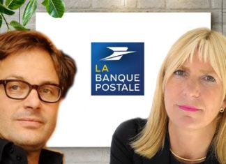 Catherine Charrier-Leflaive et Michel Andignac de La Banque Postale