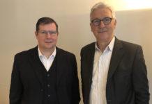 Francky Vincent et Joël Mottier