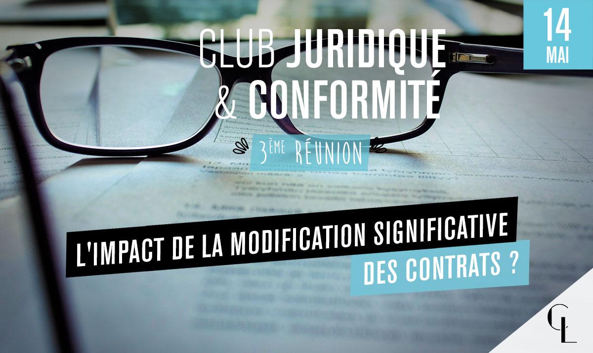 Club Juridique et Conformité - 3ème réunion