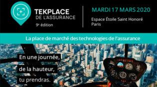 Retrouvez nos équipes au Tekplace de l'Assurance, le 17 mars prochain