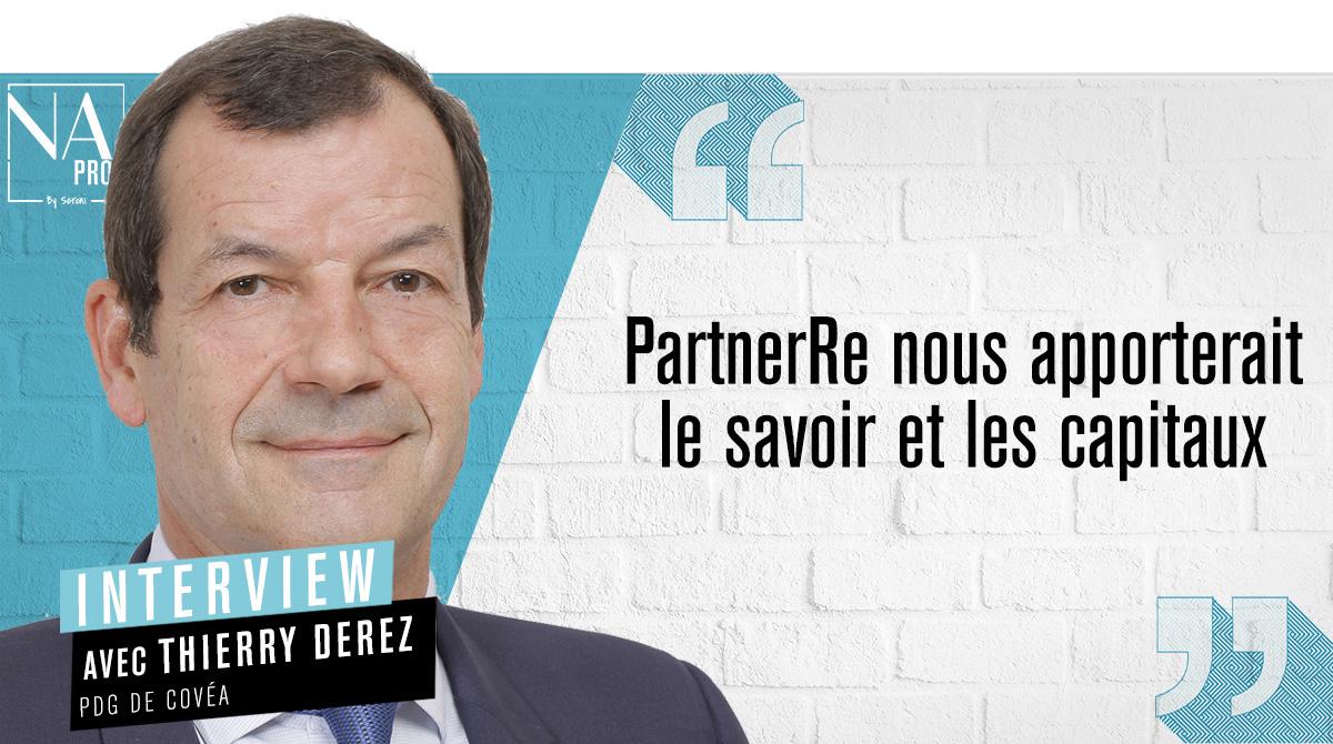"""Thierry Derez: """"PartnerRe nous apporterait le savoir et les capitaux"""""""