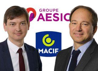 Adrien Couret et Emmanuel Roux du groupe Aésio/Macif