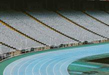 Un stade olympique vide