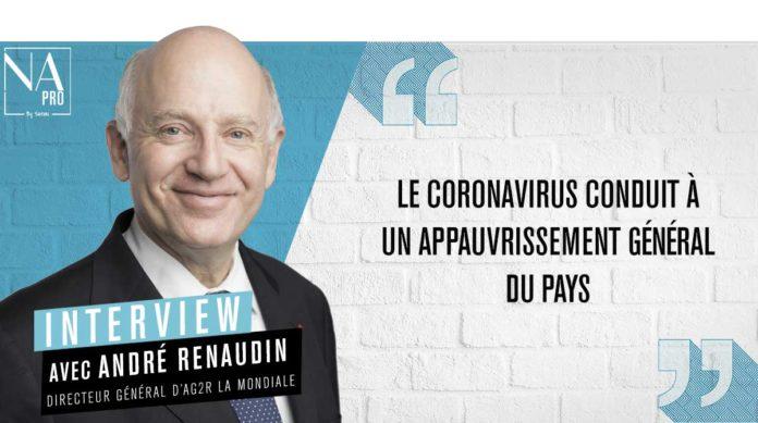 André Renaudin, directeur général du groupe AG2R La Mondiale