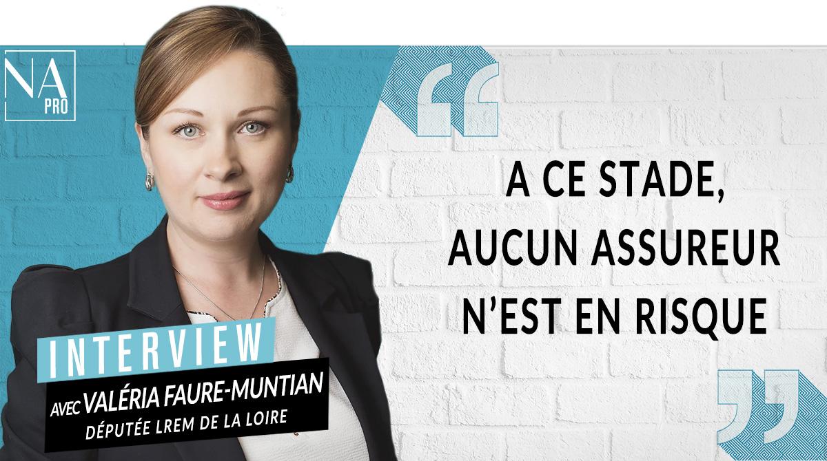 """Valéria Faure-Muntian : """"A ce stade, aucun assureur n"""