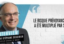 Stéphane Dessirier, directeur général de la MACSF
