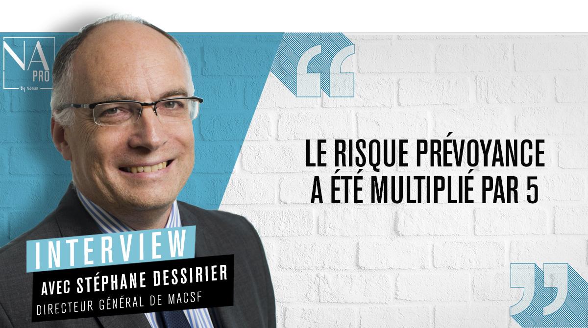 """Stéphane Dessirier: """"Le risque prévoyance a été multiplié par 5"""""""