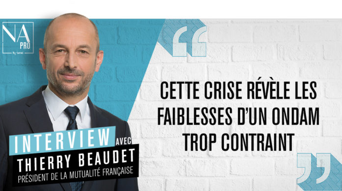 Interview avec Thierry Beaudet, président de la Mutualité Française