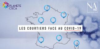 la carte interactive des courtiers face au coronavirus