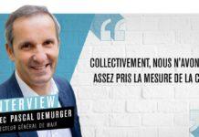 Pascal Demurger, directeur général du groupe Maif