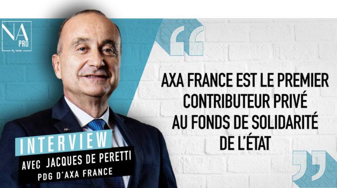 Jacques de Peretti, Axa France