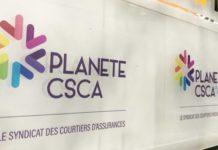 Le logo de Planète CSCA