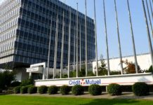 Le siège du Crédit Mutuel à Strasbourg