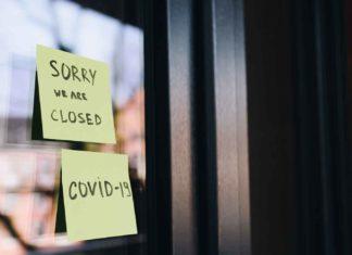 Un hôtel fermé en raison du coronavirus