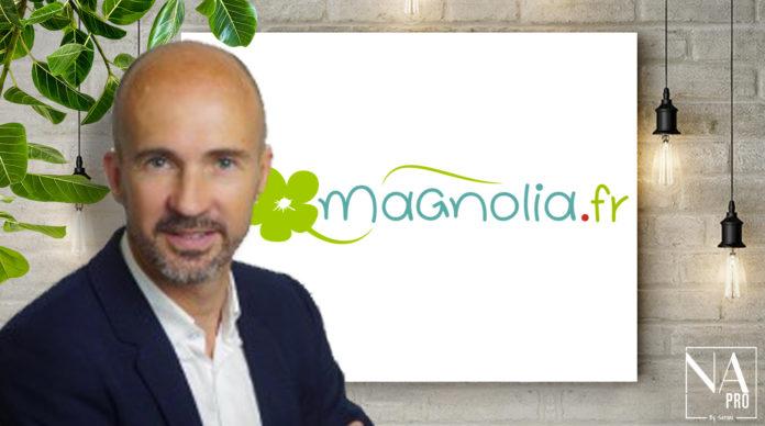 Ludovic Magnin, directeur général de Magnolia.fr