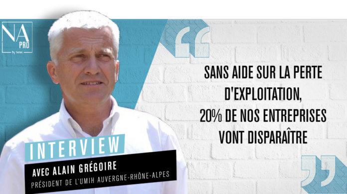 Alain Grégoire est président de l'UMIH pour la région Auvergne Rhône-Alpes