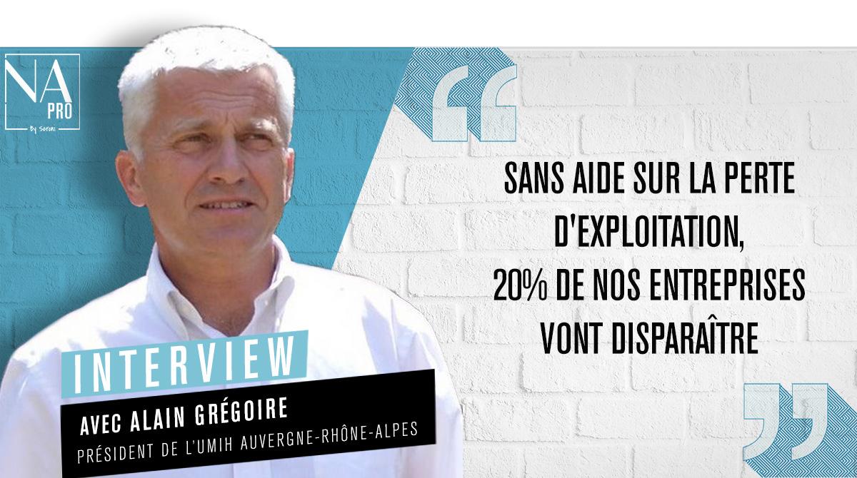 """Alain Grégoire (UMIH): """"Sans aide sur la perte d"""