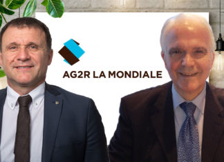 Michel Canovas, président d'AG.Mut et Antoine Genne, président de la Mutuelle des Professions Judiciaires.