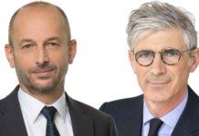 Thierry Beaudet et Stéphane Dedeyan respectivement président et directeur général du groupe Vyv