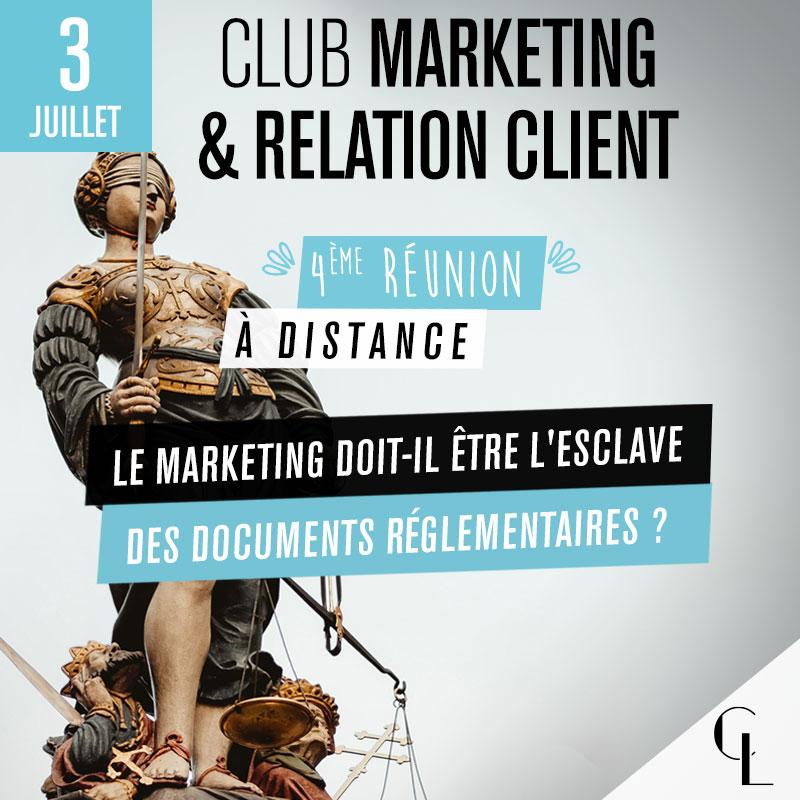 Club Marketing - 4ème réunion