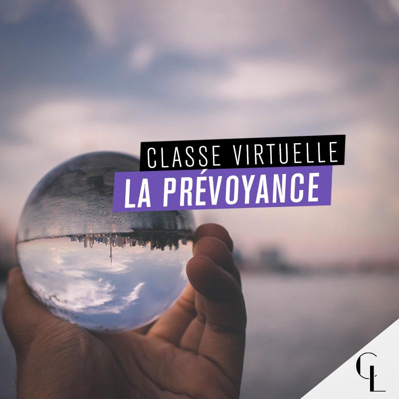 Classe virtuelle : la prévoyance