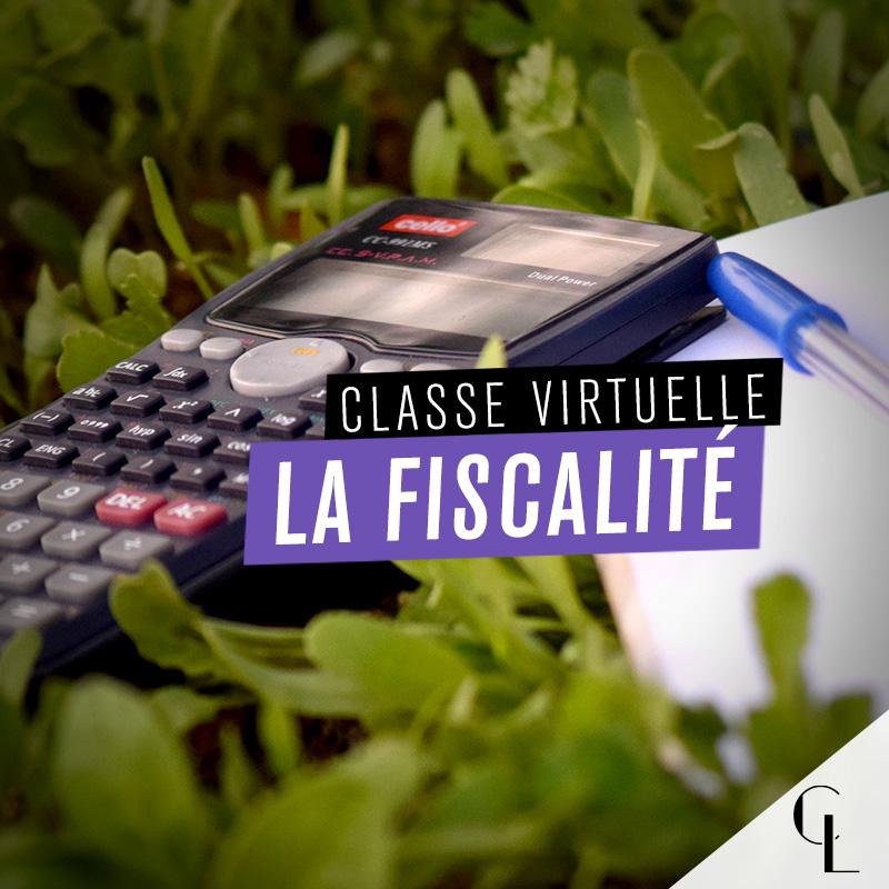 Classe virtuelle : la fiscalité