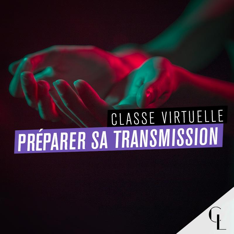 Classe virtuelle : préparer sa transmission