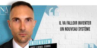 Lionel Corre, sous-directeur assurance à la direction générale du Trésor
