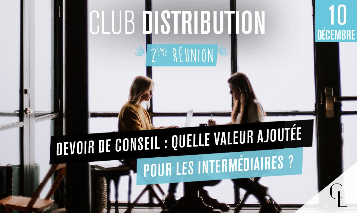 Club Distribution - 2ème réunion