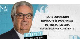 Maurice Ronat est président de l'Unocam et d'Eovi-Mcd. Il est également vice-président du groupe Aésio.
