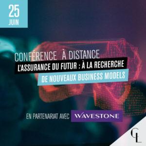 Conférence à distance : L'assurance du futur en partenariat avec Wavestone