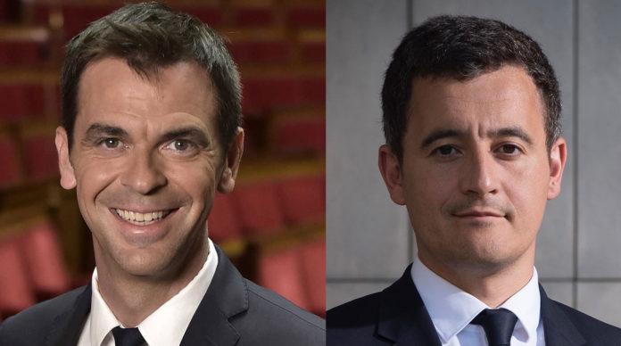 Olivier Véran et Gérald Darmanin